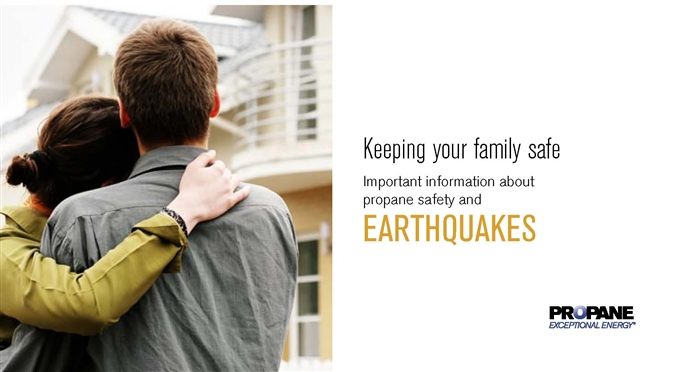 Earthquake Propane Safety Brochure Thumbnail