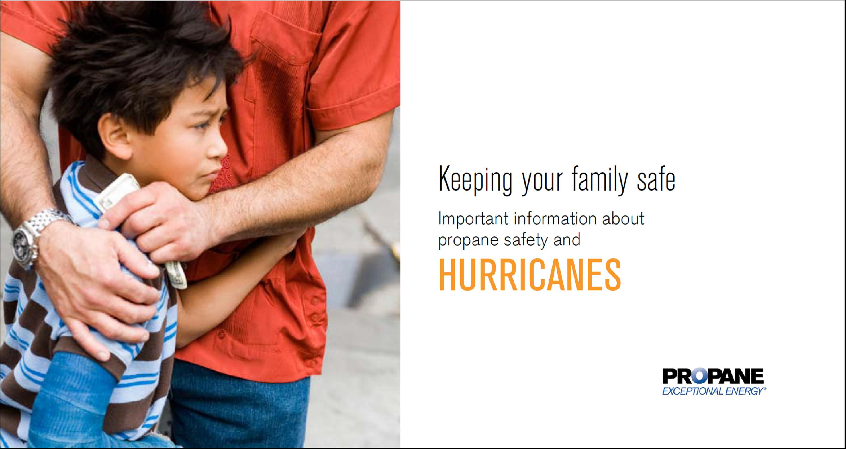 Hurricane Propane Safety Brochure Thumbnail