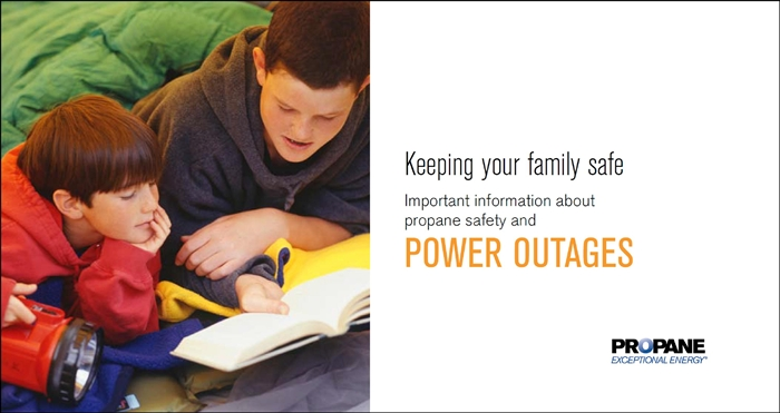 Power Outage Propane Safety Brochure Thumbnail