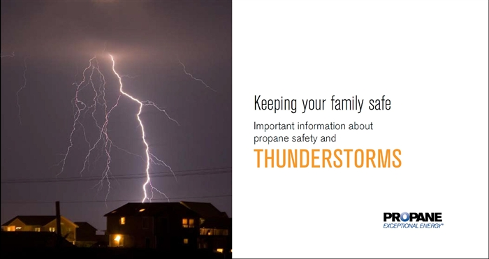 Thunderstorm Propane Safety Brochure Thumbnail