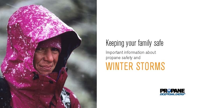 Winter Storm Propane Safety Brochure Thumbnail