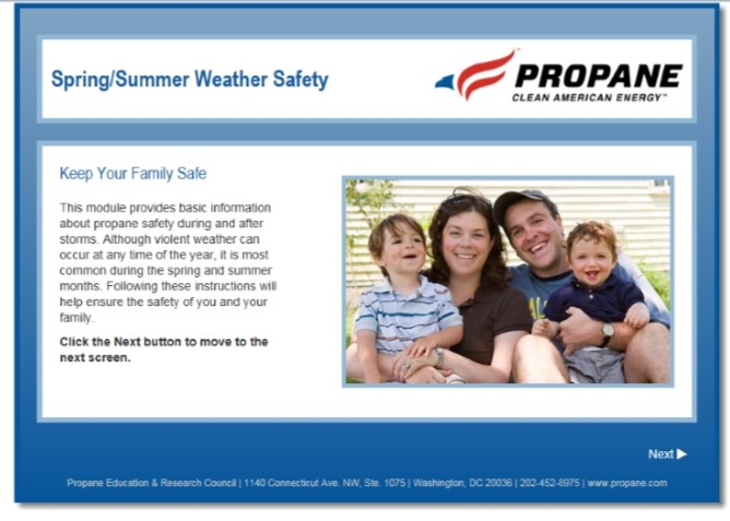 spring summer weather safety